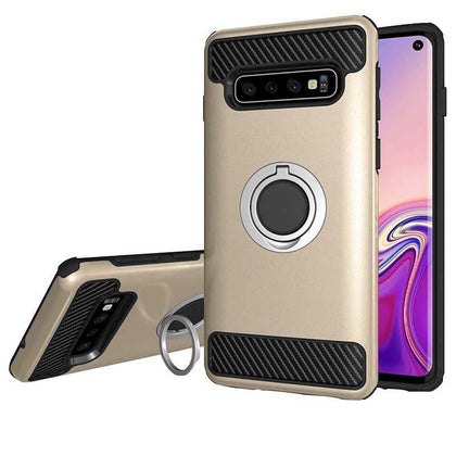 MD Ring Case for Samsung Galaxy S10 Plus - Gold