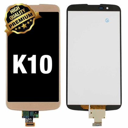 LCD Assembly  for LG K10 (K410) 2016 Without Frame (Premium Quality) - Gold | MobilEnzo