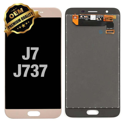 LCD Assembly for GALAXY J7 (J737 / 2018) (Premium) - Gold