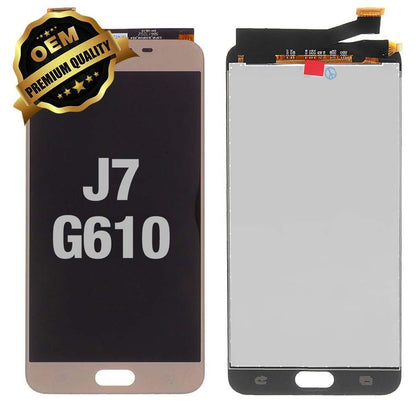 LCD Assembly for GALAXY J7 Prime/On 7 (G610) (Premium) - Gold