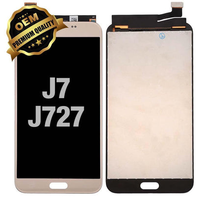 LCD Assembly for GALAXY J7 Prime (J727 / 2017) (Premium) - Gold