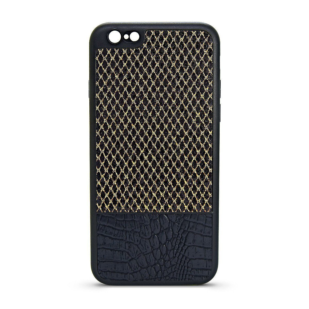 YKB Leather Case for i6P - Gold Diamond