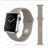 Premium Silicone Bands For iWatch 38mm - Grey