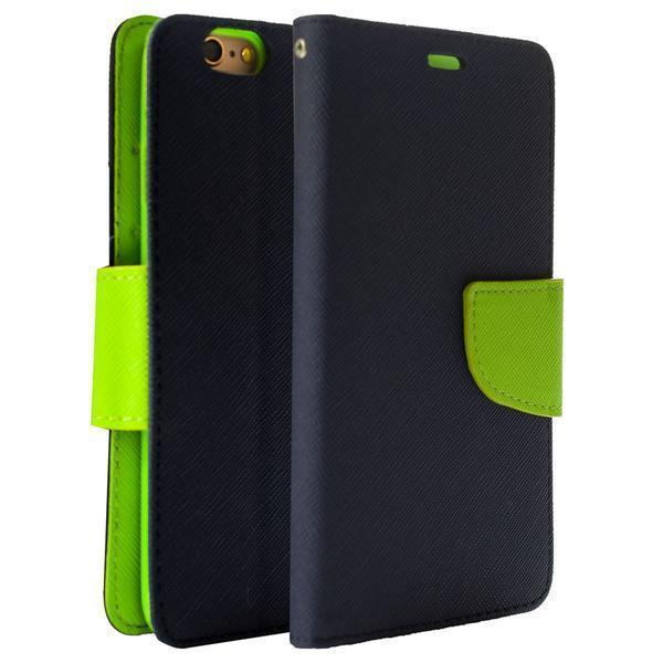 Wing Wallet Case for iPhone 5 - Dark Blue