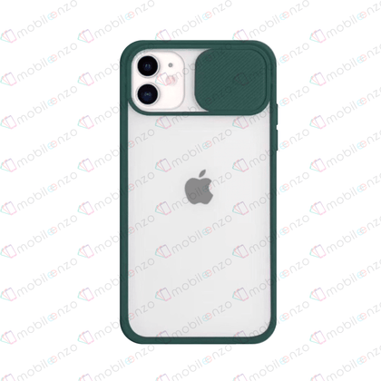 Camera Protector Case for iPhone 11 Pro Max - Navy Green