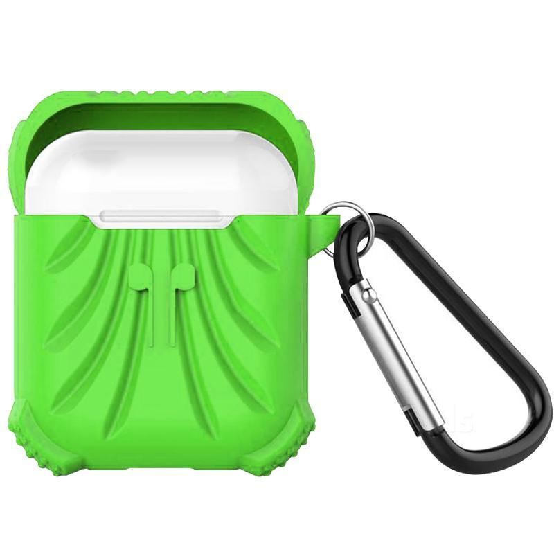 Protector Silicone Case for Apple Airpods - Green
