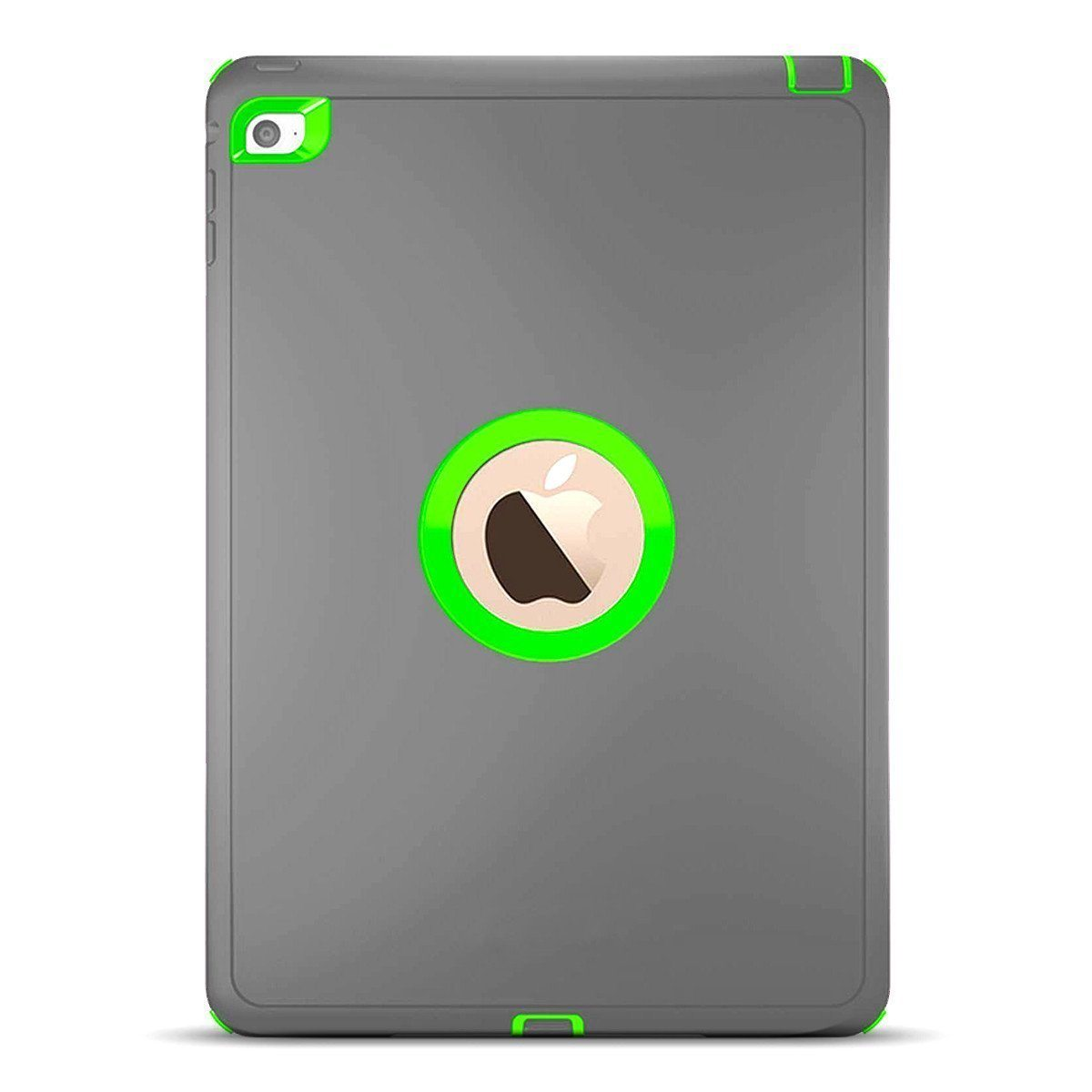 DualPro Protector for iPad Mini 3 - Grey & Light Green