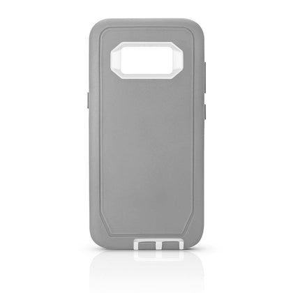 DualPro Protector Case for S8 - Grey & White