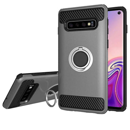MD Ring Case for Samsung Galaxy S10 Plus - Grey