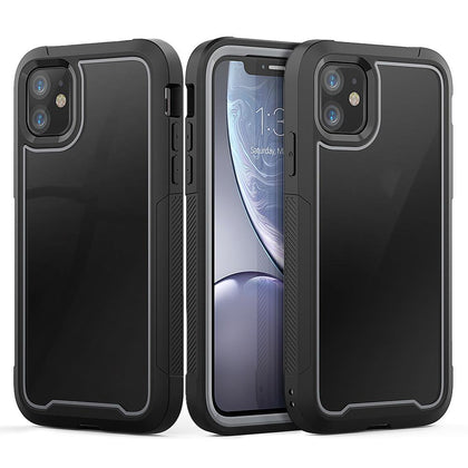 2 in 1 Sport Case for iPhone 11 - Grey