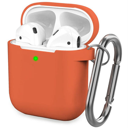 Premium Silicone Case for Apple Airpods - Hermes