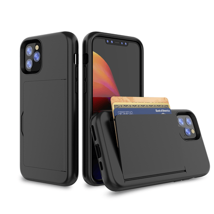 Card Zero Case for iPhone 11 Pro - Black