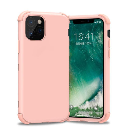 Bumper Hybrid Combo Layer Protective Case for iPhone 11 Pro - Rose Gold