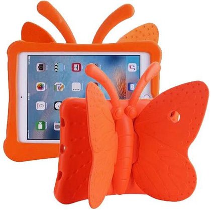 Butterfly Case for iPad Air 1/Air 2/iPad Pro 9.7/ iPad 5 (2017)/iPad 6 (2018) - Orange