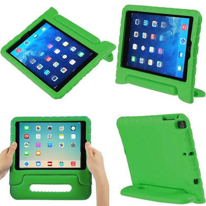Handle Case (Carry) Case for iPad AIR 1/Air 2/ 9.7/iPad 5 (2017)/iPad 6(2018) - Green