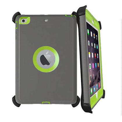 DualPro Protector for iPad Mini 4 - Dark Grey & Light Green