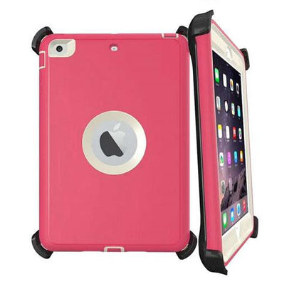 DualPro Protector for iPad Mini 4 - Pink & White