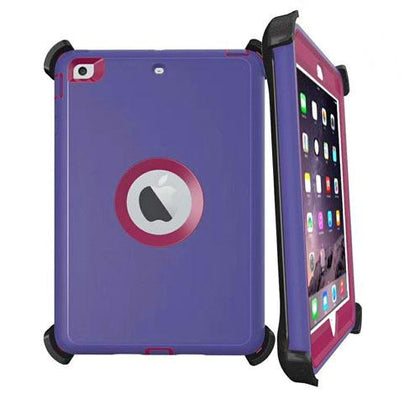 DualPro Protector for Ipad Air 2 & iPad 9.7' - Purple & Burgundy