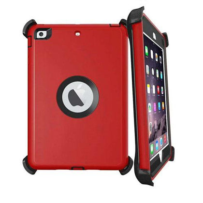 DualPro Protector for Ipad Air 2 & iPad 9.7' - Red & Black