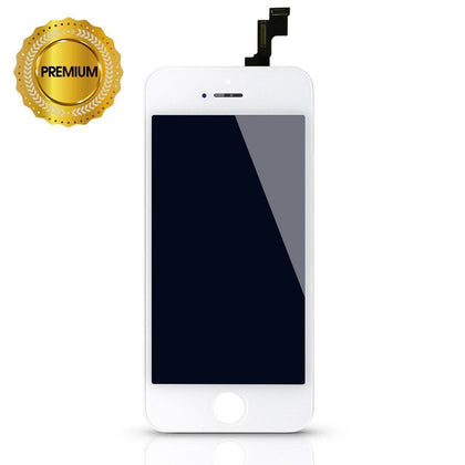 LCD Digitizer for iPhone 5S - White (High Quality) case