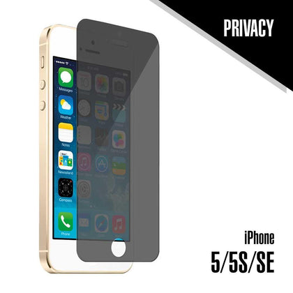 Tempered Glass for iPhone 5, 5S, 5SE (Privacy) | MobilEnzo