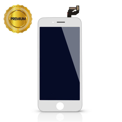 LCD Digitizer for iPhone 6S - White (High Quality) case