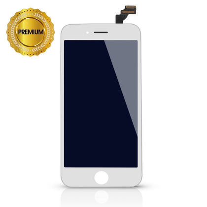 LCD Digitizer for iPhone 6 Plus - White (High Quality) case