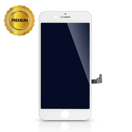 LCD Digitizer for iPhone 8 - White (High Quality) | MobilEnzo