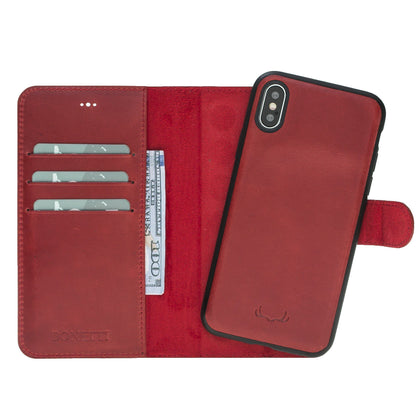 BNT Wallet  Magnet Magic for iPhone XR - Red