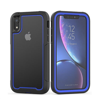 2 in 1 Sport Case for iPhone XR - Blue