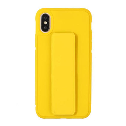 Wrist Strap Case for iPhone XR - Yellow
