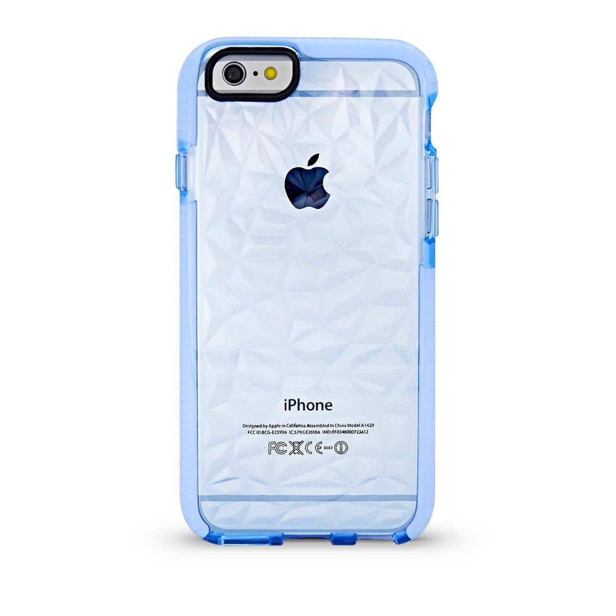 Elastic Crystal Case for iPhone 6P - Light Blue