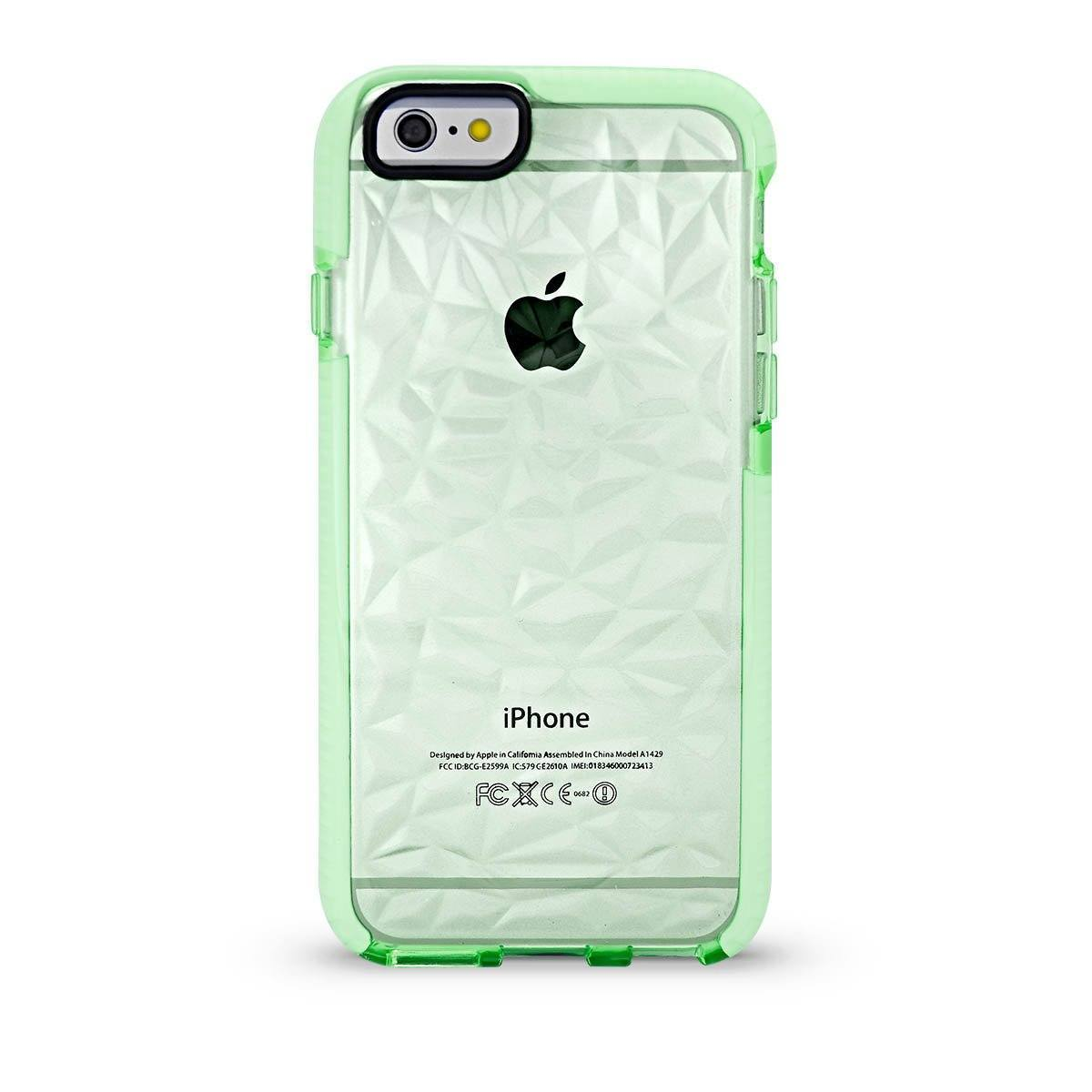 Elastic Crystal Case for iPhone 6 - Light Green