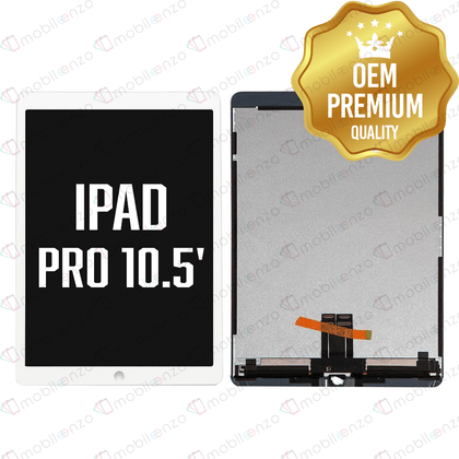 LCD Assembly with Digitizer for iPad Pro 10.5 - White (Premium)