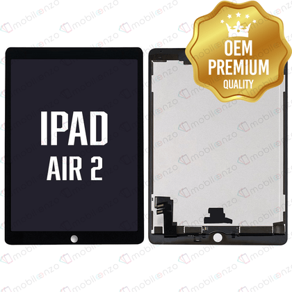 LCD with Digitizer for iPad Air 2 - Black
