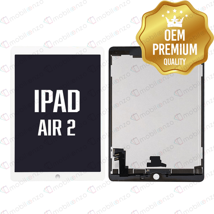 LCD with Digitizer for iPad Air 2 - White