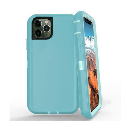 DualPro Protector Case for iPhone 11 Pro Max - Teal & Light Teal