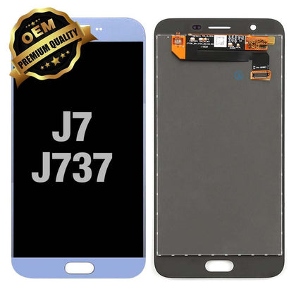 LCD Assembly for GALAXY J7 (J737 / 2018) (Premium) - Light Blue