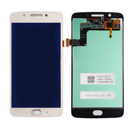 LCD Assembly for Motorola G5 (XT1670) - White | MobilEnzo