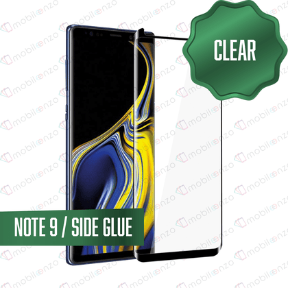 Tempered Glass for Samsung Galaxy Note Series - Note 9 -  Case Friendly Black
