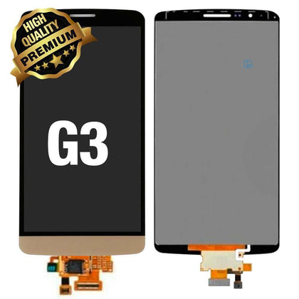 LCD Assembly for LG G3 (Premium Quality) - Gold