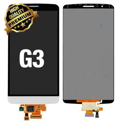 LCD Assembly for LG G3 (Premium Quality) - White | MobilEnzo
