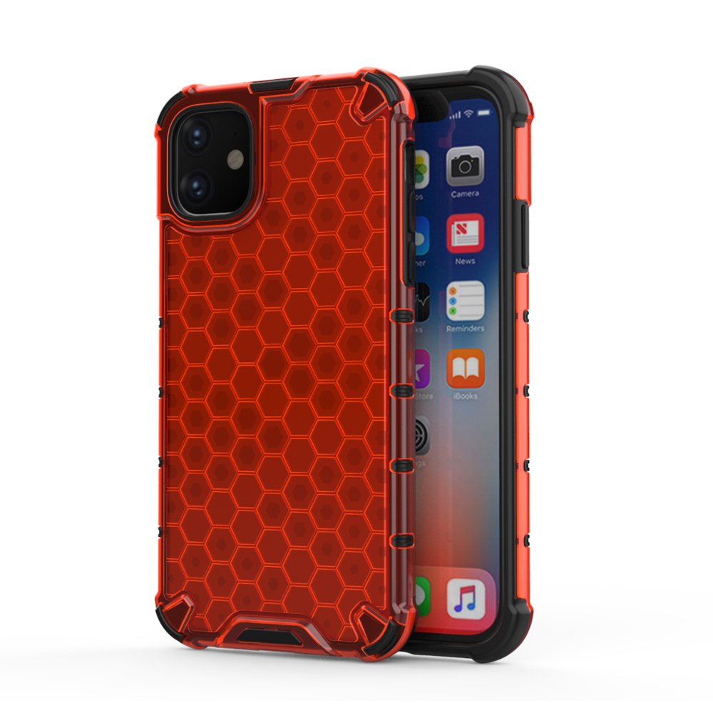 Lucid Hexa Case for iPhone 11 Pro Max - Red