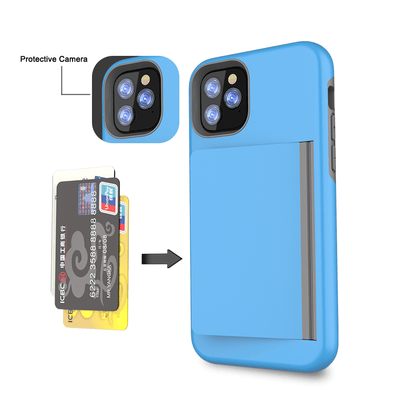 Card Zero Case for iPhone 11 Pro - Blue