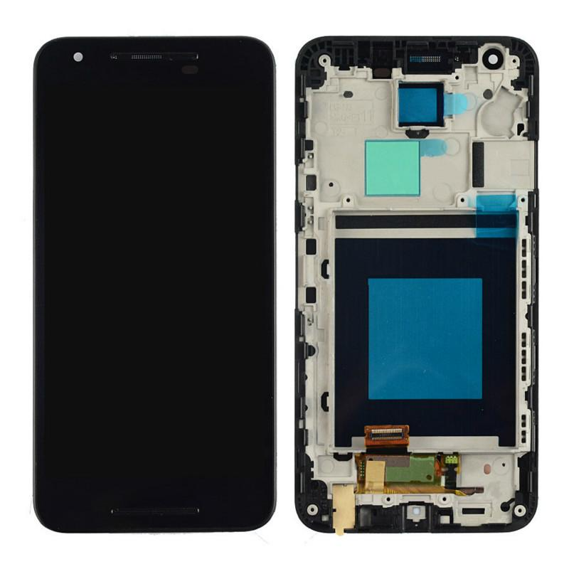 LCD Assembly for Nexus 5 With Frame - Black