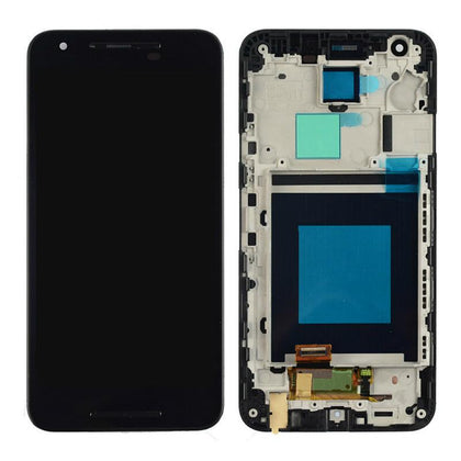 LCD Assembly for Nexus 5X With Frame - Black
