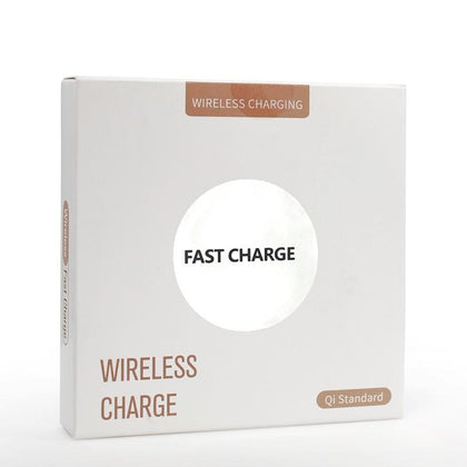 Fast Wireless Charger Pad For iPhone 11/11Pro/11ProMax - White