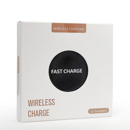 Fast Wireless Charger Pad For iPhone 11/11Pro/11ProMax - Black
