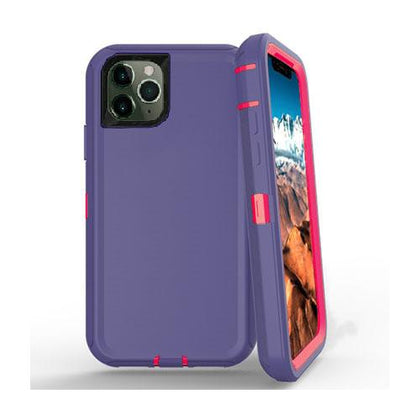 DualPro Protector Case for iPhone 11 Pro Max - Purple & Pink