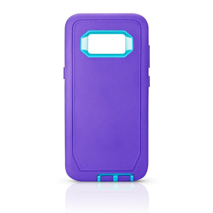 DualPro Protector Case for S8 - Purple & Light Blue